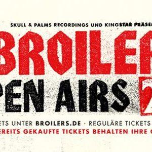 Broilers  Open Airs 2021  Hamburg
