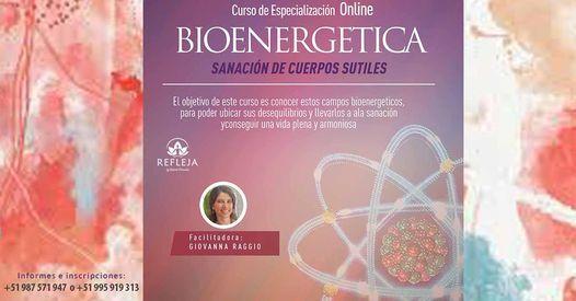 CURSO BIOENERGÉTICA - Sanación de Cuerpos Sutiles Con Giovanna Raggio - Junio | Event in Santiago de Surco