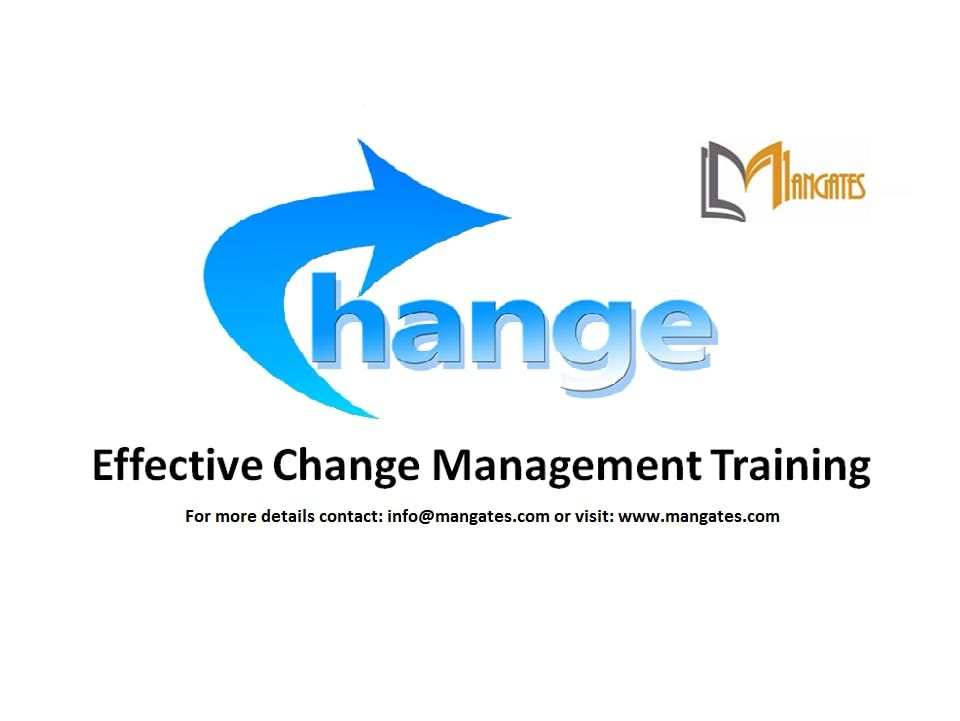 Effective Change Management Training in Melbourne on 20-Dec 2019