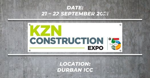 KZN Construction Expo 2021, 21 September   Event in Durban   AllEvents.in