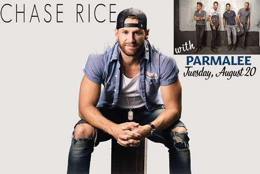 Chase Rice with Parmalee