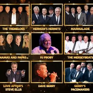 Sixties Gold  The Ultimate Line Up
