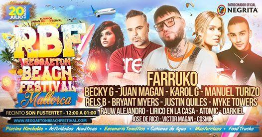 Reggaeton Beach Festival - Mallorca
