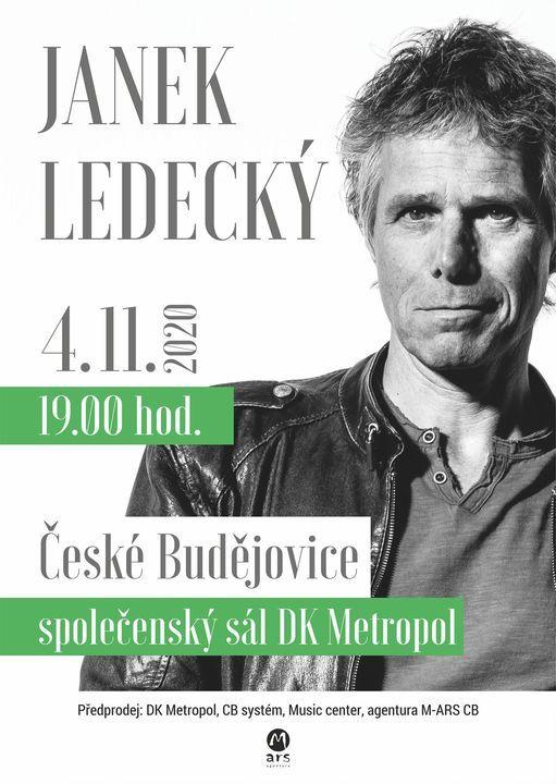 Janek Ledecký, 4.11.2020 od 19,00 ZRUŠENO, 4 November | Event in Ceske Budejovice | AllEvents.in