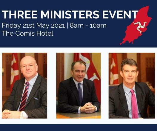 Three Ministers | Sponsored by Appleby, 21 May | Event in Douglas | AllEvents.in
