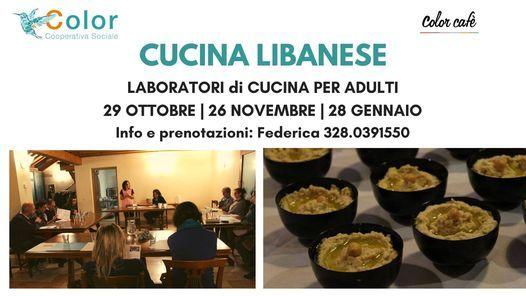 Corso Di Cucina Libanese Color Cafe Bassano Del Grappa January 28 2021 Allevents In