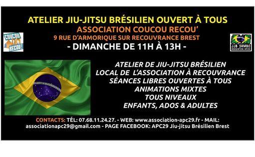Atelier Jiu-Jitsu Brésilien à Coucou Recou' | Event in Brest | AllEvents.in