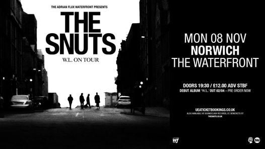 The Snuts, 8 November | Event in Norwich | AllEvents.in