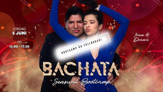Fullbokad! Bachata sensual bootcamp med Ivan & Diana! | Event in Stockholm | AllEvents.in