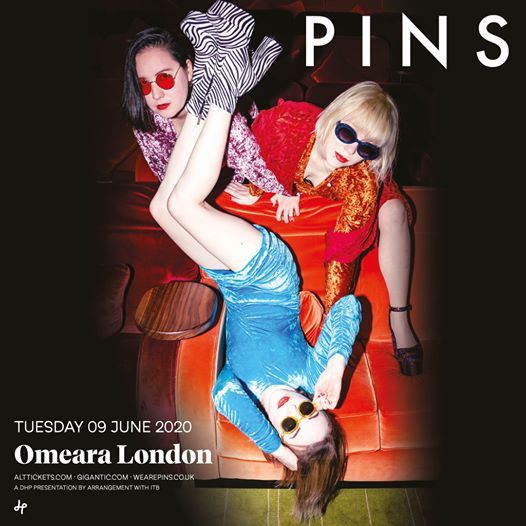 PINS live at Omeara London.