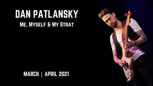 CAFE BARCELONA - DAN PATLANSKY - ME, MYSELF & MY STRAT, 23 April | Event in Pretoria | AllEvents.in