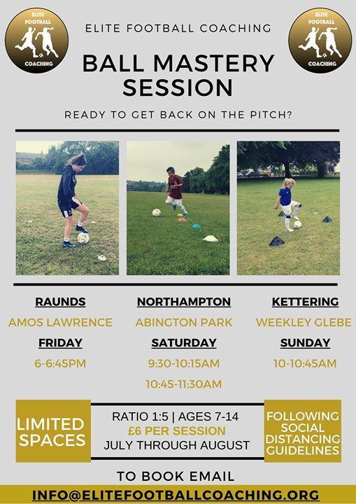 EFC Ball Mastery - Northampton