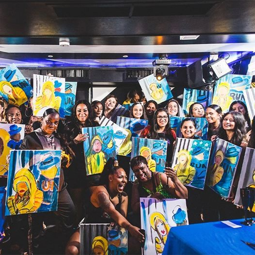 Party n Paint at Duo London