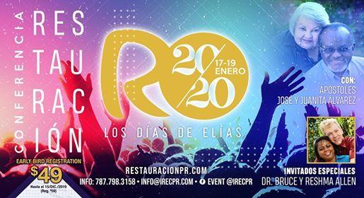 Conferencia Restauracin 2020