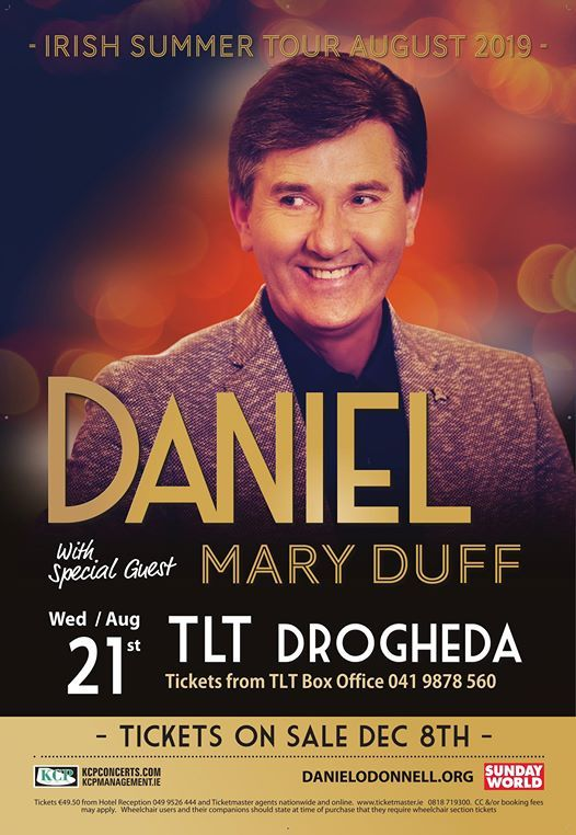 Daniel ODonnell with Mary Duff
