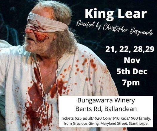 King Lear Auditions