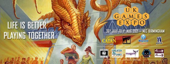 UKGE 2021 w/ Steve Jackson Games, 30 July | Event in Birmingham | AllEvents.in