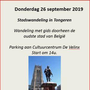 Gegidste stadswandeling senioren ACOD Limburg