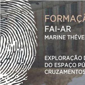 Masterclass Explorao dramatrgica do espao pblico e cruzamentos disciplinares - FAI-AR