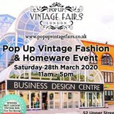 Pop Up Vintage Fairs London