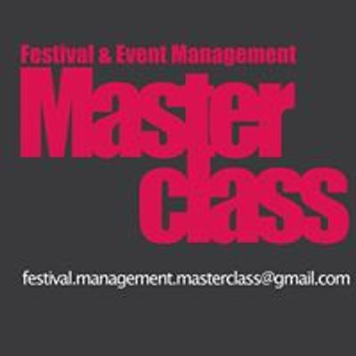 Festival and Event Management Masterclass