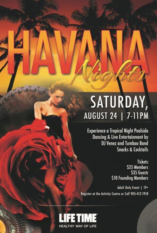 Havana Nights- Lifetime Ajax