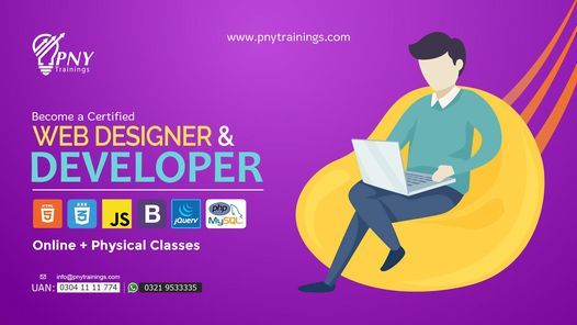 Become a Certified Web Designer and Developer, 12 April | Event in Lahore | AllEvents.in