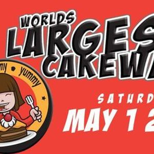 Worlds Largest Cake Walk