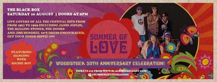 Summer Of Love Woodstock 50th Anniversary Celebration