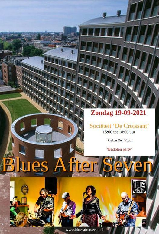 Blues in 'De Croissant', 19 September | Event in The Hague | AllEvents.in