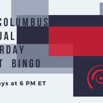 YPR Columbus Saturday Night Virtual Bingo