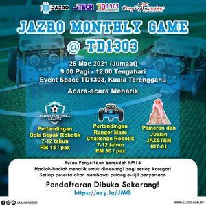 JAZRO MONTHLY GAMES