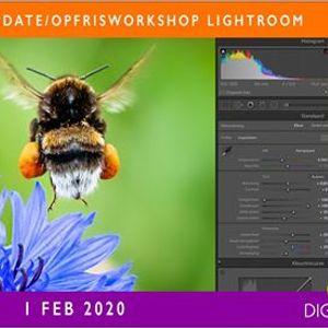UpdateOpfrisworkshop Lightroom in Deventer