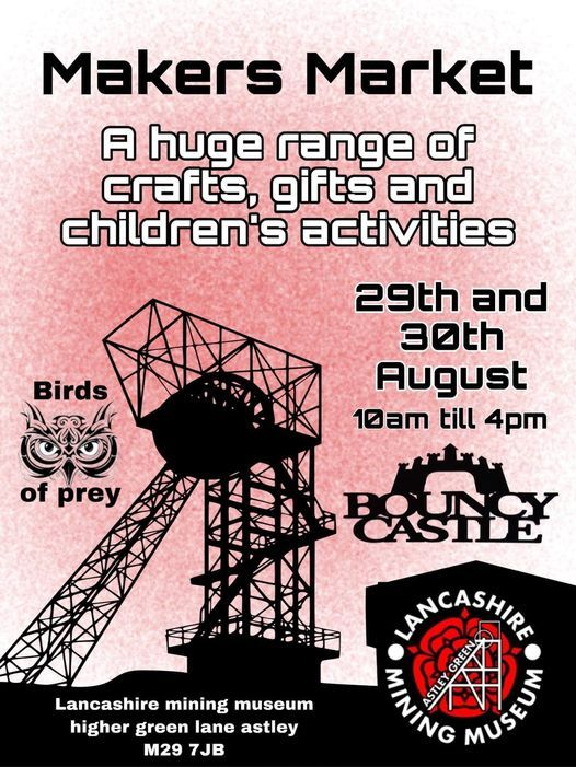 Fundraising stall at the Mining Museum Makers Market, 29 August   Event in Abram   AllEvents.in