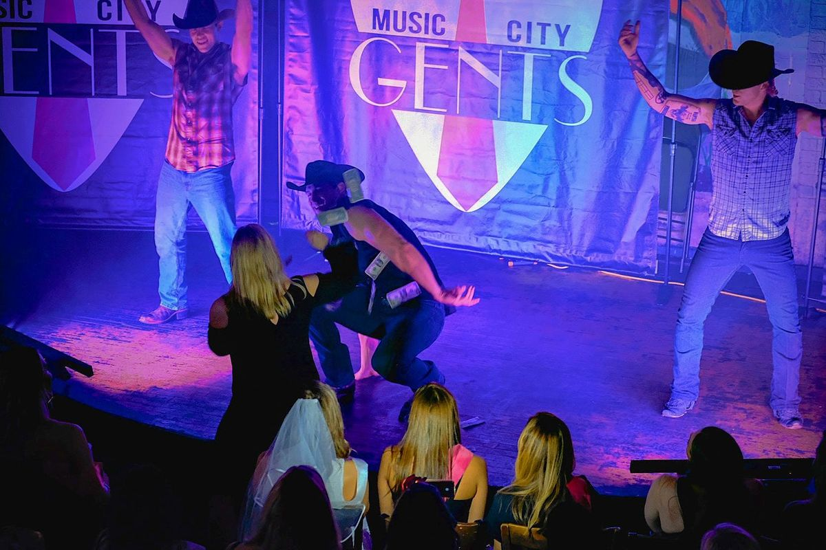 Music City Gents Male Revue Show  Nashville Male Strippers  Hunkomania