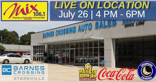 Live from Barnes Crossing, Barnes Crossing Auto Sales and ...