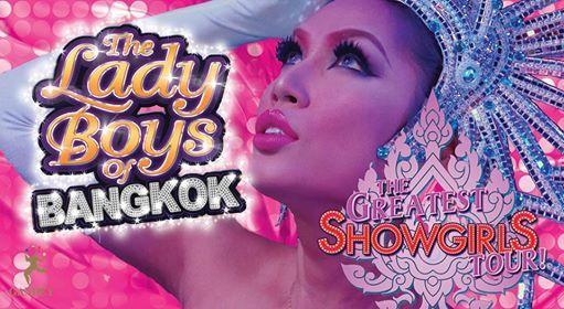 The Lady Boys of Bangkok Greatest Showgirls Tour - Newcastle