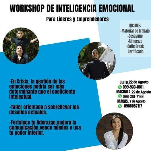 Workshop de Inteligencia Emocional para Lideres &Emprendedores, 7 August | Event in Quito | AllEvents.in