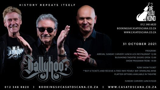 Ballyhoo, 26 August   Event in Pretoria   AllEvents.in