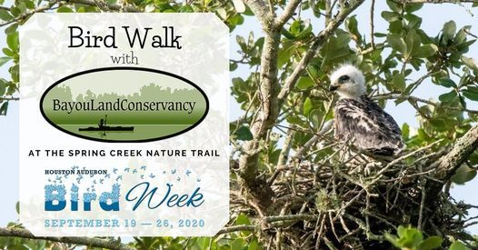 Bird Walk @ Creekside West Trailhead | Tomball | Texas | United States