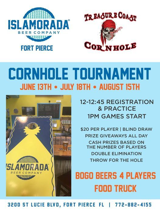 Cornhole Tournament, 15 August   Event in Fort Pierce   AllEvents.in