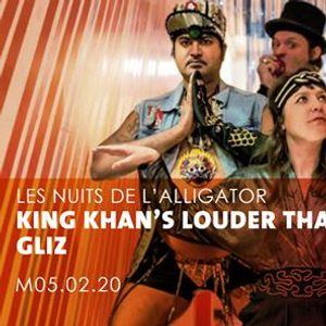 Les Nuits de lAlligator  King Khans Louder Than Death  Gliz