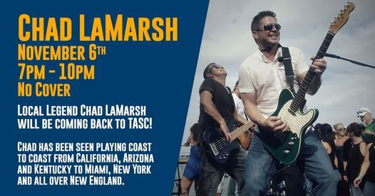 Live Music with Chad LaMarsh, 6 November | Event in Nashua | AllEvents.in