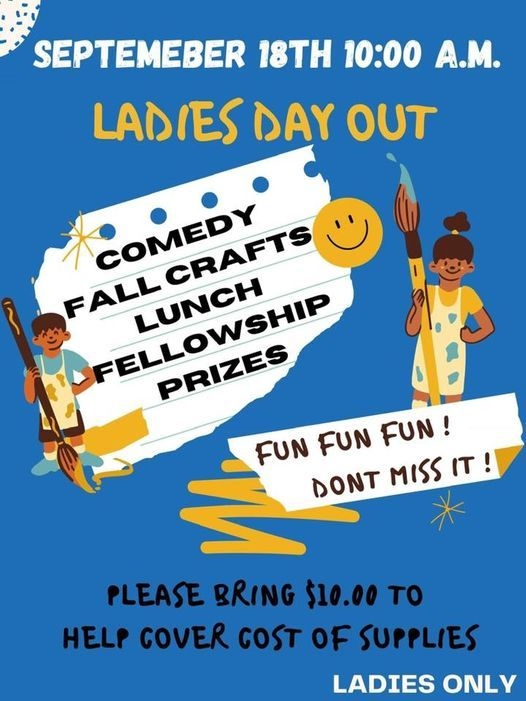Ladies Day Out | Event in Mcalester | AllEvents.in