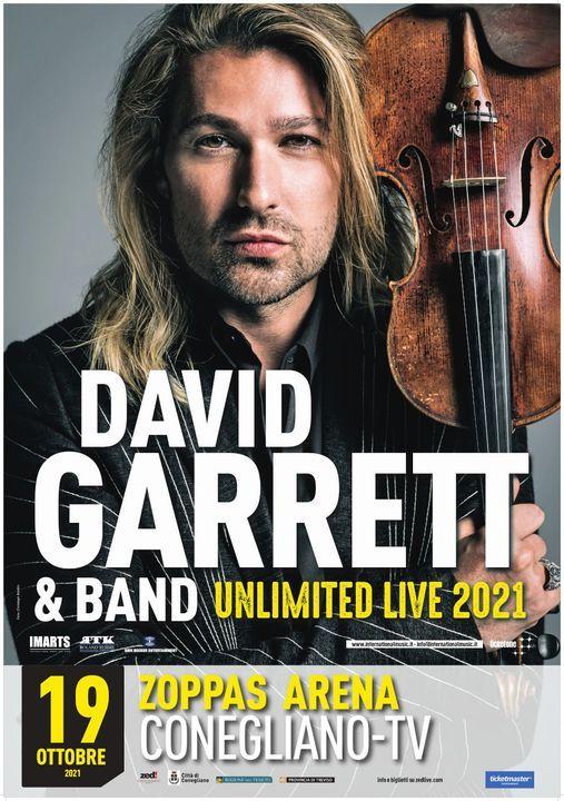 David Garrett Unlimited  Live World Tour 2021  Conegliano