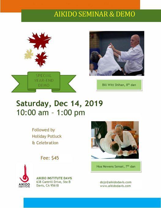 Aikido Seminar and Demo