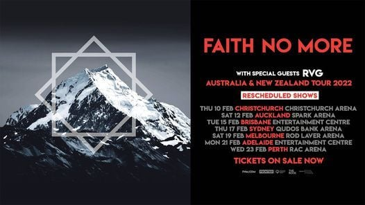 Faith No More at Spark Arena Auckland (All Ages)