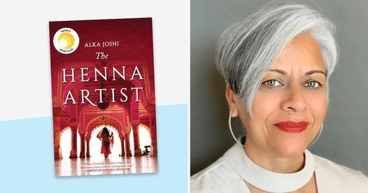 Book Review - The Henna Artist by Alka Joshi, 23 May   Online Event   AllEvents.in