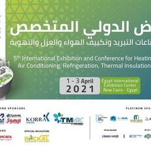 HVAC-R EGYPT EXPO AHSRAE CAIRO 2021