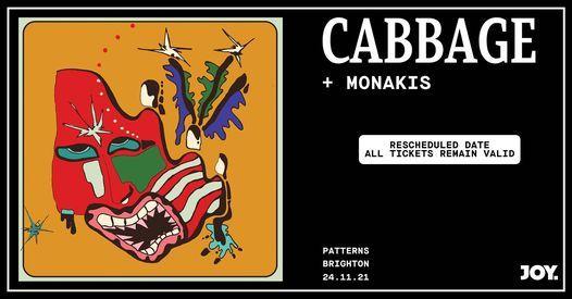 JOY. | Cabbage • 24.11 • Brighton, 24 November | Event in Brighton | AllEvents.in